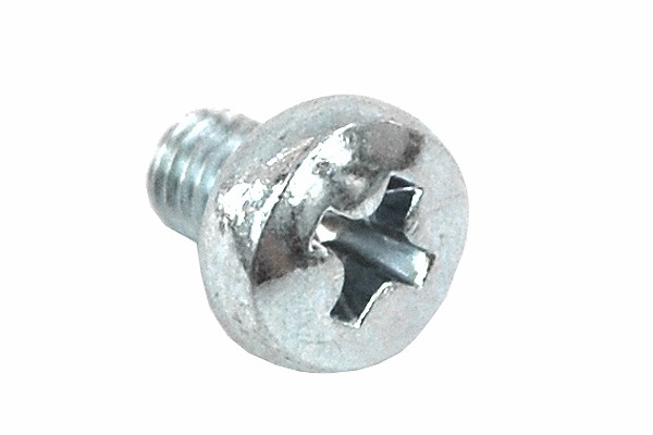 screw DIN 7985 M3 x 4 cross recess zinc coated - case screw