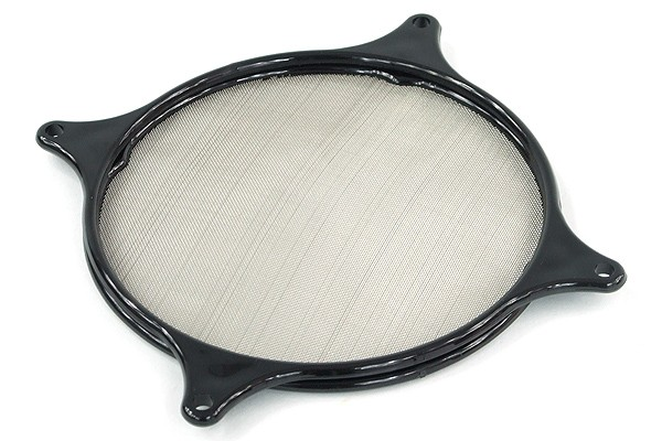 Fan filter Mesh 120mm black frame