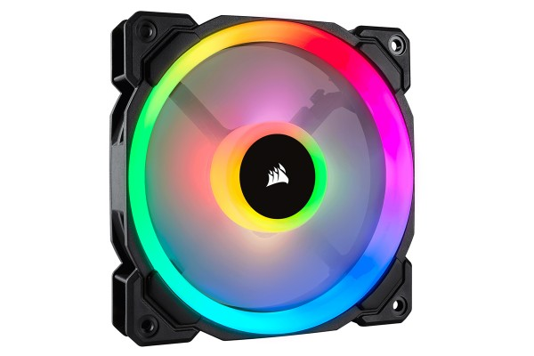 Corsair LL Series LL140 RGB-LED Premium Magnetic Levitation Fan (140x140x25)
