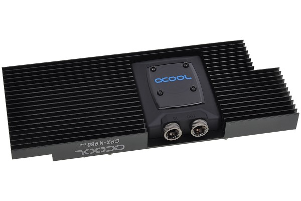Alphacool NexXxoS GPX - Nvidia Geforce GTX 980 M01 - incl. backplate - black