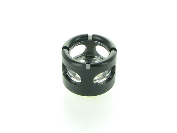"Monsoon Hardline 16/13mm (ID 1/2"" OD 5/8"") compression fitting - Matte Black"