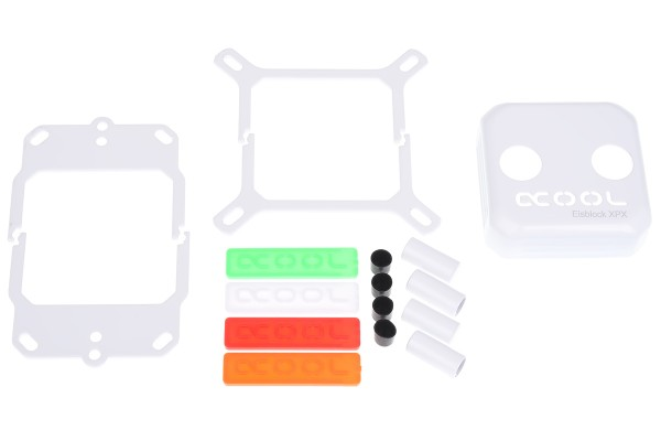 Alphacool Eisblock XPX CPU modding kit - white